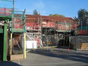 Playground scaffolding